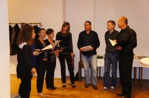 Klapa singt zum 70. Geburtstag des Honorarkonsuls Nikolaus Hermann